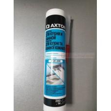 герметик (106494) AXTON, 280мл, белый